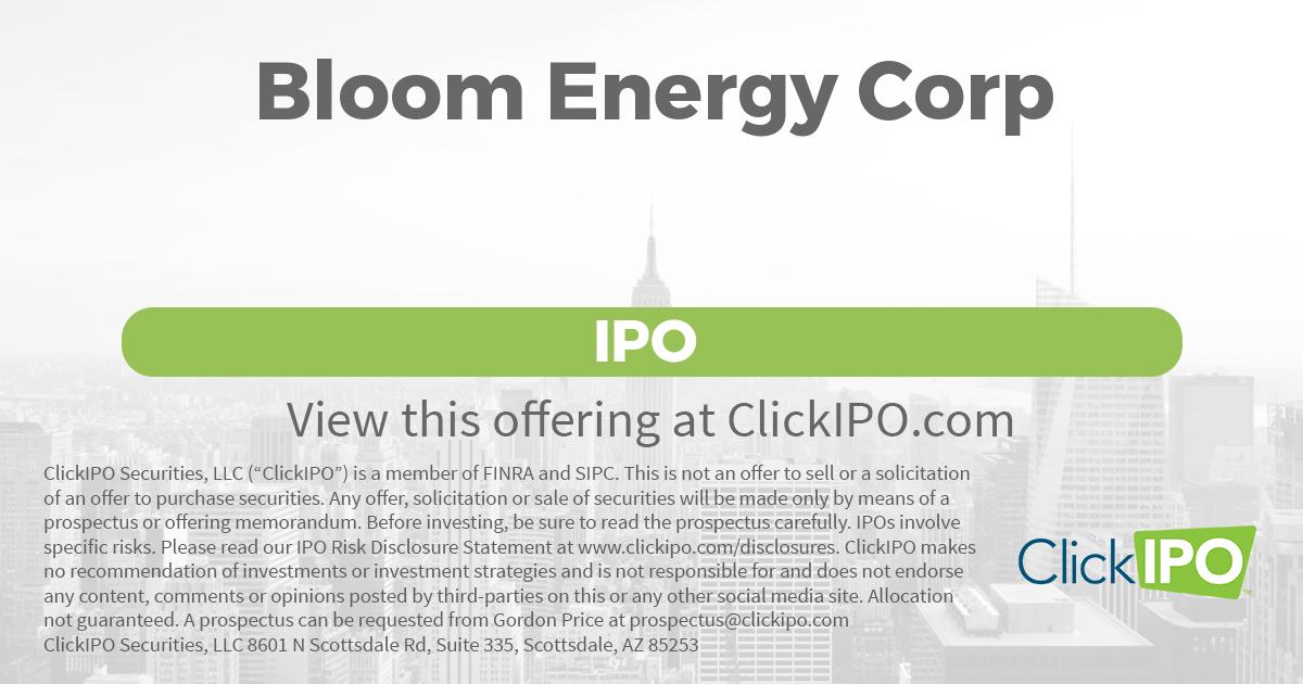 Bloom Energy Stock Symbol Energy Etfs