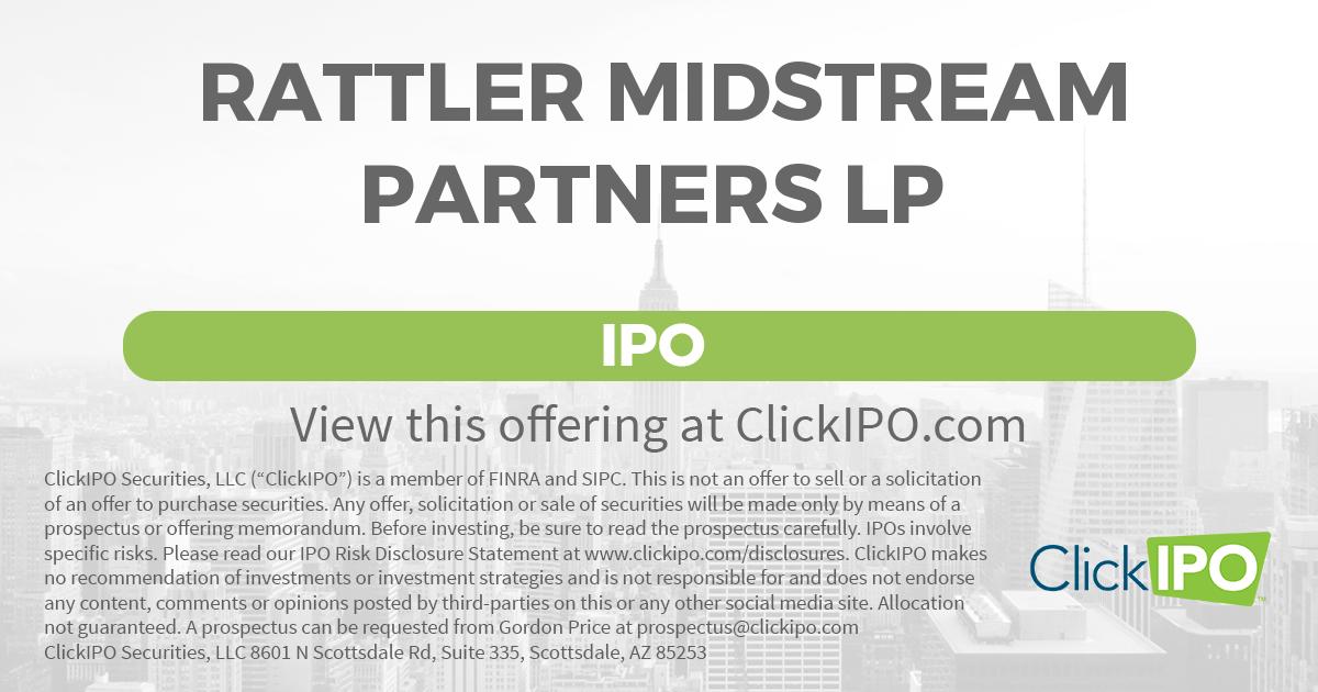 Rattler midstream ipo s1